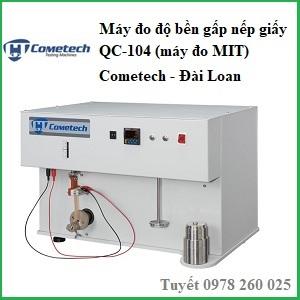 Máy đo độ bền gấp giấy QC-104 (máy đo MIT)