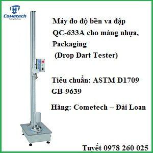 Máy đo độ bền va đậpmàng nhựa, Packaging QC-633A
