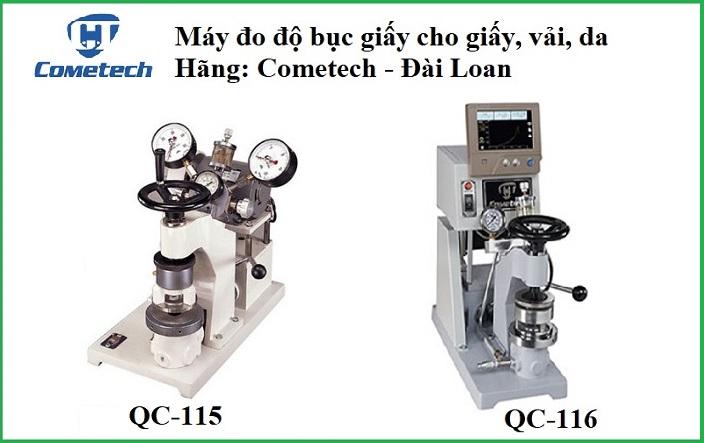 Máy kiểm tra độ bục giấy (Bursting Strength Tester) QC-115 và QC-116