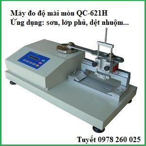 Máy đo độ mài mòn qc-621h cho nhựa, sơn, lớp phủ kim loại, vải, ...