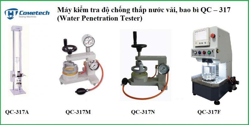 Máy kiểm tra độ chống thấm nước vải, bao bì qc-317