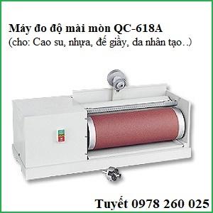 Máy kiểm tra độ mài mòn cao su QC-618A