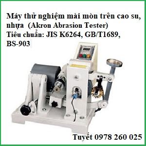 Máy test độ mài mòn Akron QC-615A trên cao su, plastic (Akron Abrasion Tester)