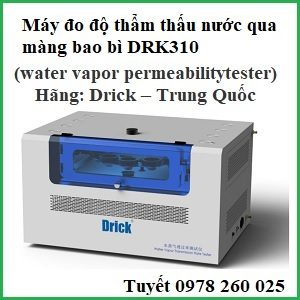 Máy đo độ thấm nước qua màng bao bì DRK310