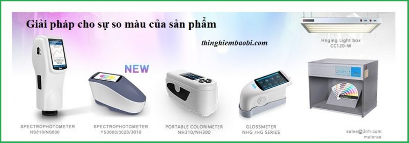 máy so màu (colorimeter, spectrophotometer)
