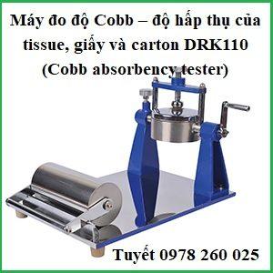 Máy đo độ Cobb – độ hấp thụ của tissue, giấy và carton DRK110