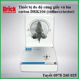 Thiết bị kiểm tra độ cứng của giấy và bìa carton DRK106