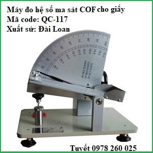 Máy đo chỉ số COF cho giấy, màng film
