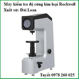 Máy đo độ cứng kim loại Rockwell