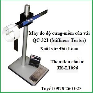 Thiết bị xác định độ cứng vải QC-321 (Stiffness Tester)